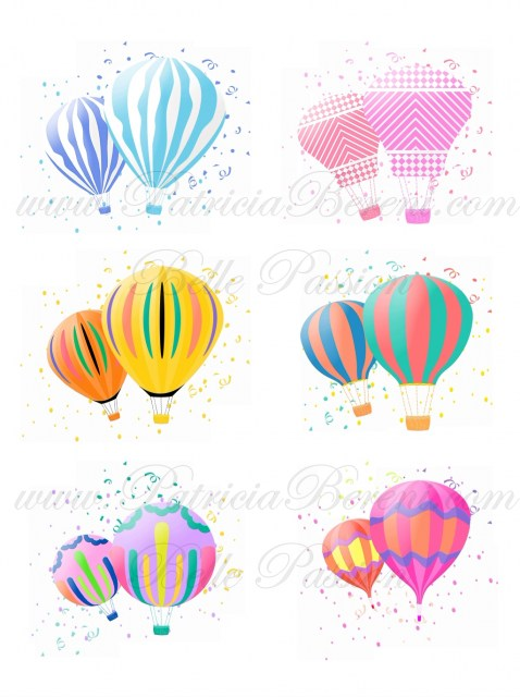 Floating hot air balloons 1 Text6